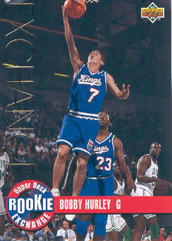 1993-94 Upper Deck Rookie Exchange Gold #RE7 Bobby Hurley