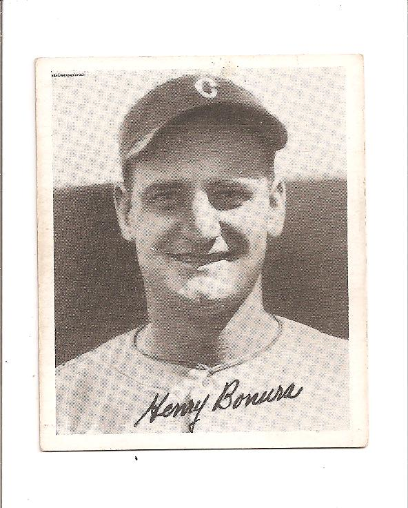1936 Goudey Black and White #2 Zeke Bonura