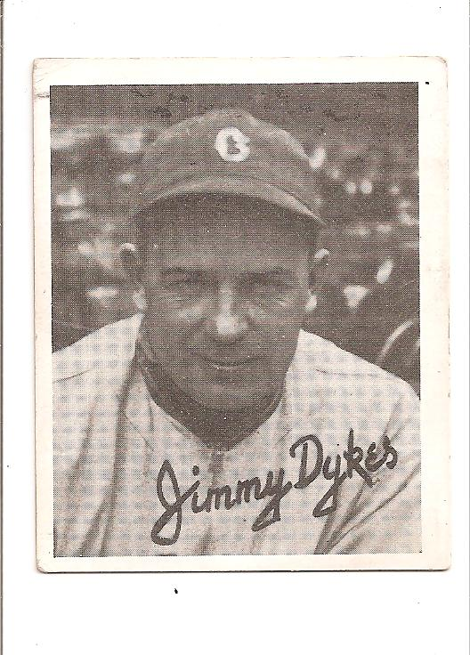 1936 Goudey Black and White #12 Jimmy Dykes