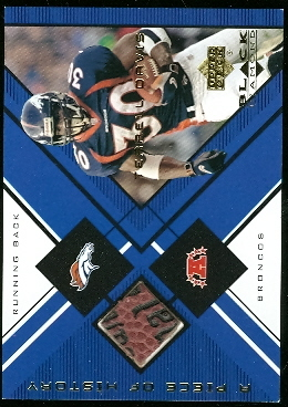 1999 Black Diamond A Piece of History #TD Terrell Davis H