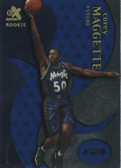 1999-00 E-X Essential Credentials Future #82 Corey Maggette/9