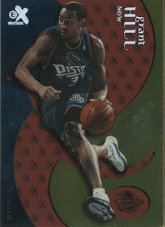 1999-00 E-X Essential Credentials Now #20 Grant Hill/20 front image