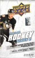 2007 - 08 ( 2008 ) Upper Deck Series 2 Two Hockey Factory HOBBY Box - 2 Memorabilia Cards ( Poss. Alex Ovechkin ) & 6 Young Gun Rookies ( Poss. Jonathan Towes ) Per Box + A Pack Of Sleeves