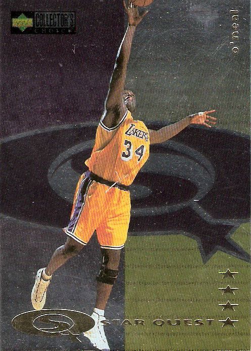 1997-98 Collector's Choice StarQuest #88 Shaquille O'Neal