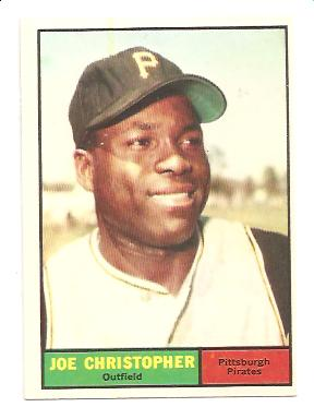 1961 Topps #82 Joe Christopher RC