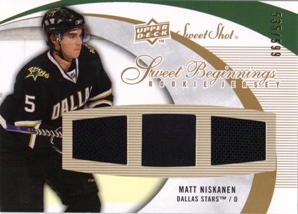 2007-08 Sweet Shot #113 Matt Niskanen JSY RC