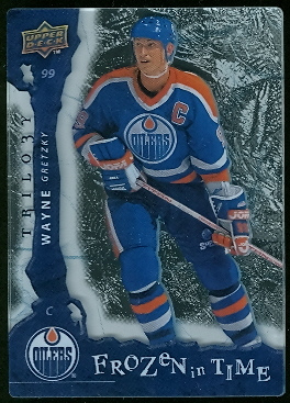 2008-09 Upper Deck Trilogy Frozen in Time #120 Wayne Gretzky