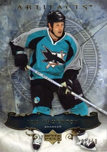 2006-07 Artifacts Gold #17 Joe Thornton
