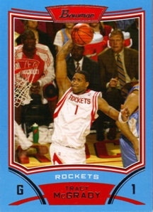 2008-09 Bowman Blue #1 Tracy McGrady