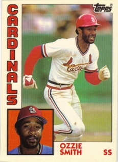 1984 Topps Tiffany #130 Ozzie Smith