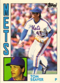 1984 Topps Tiffany #740 Tom Seaver