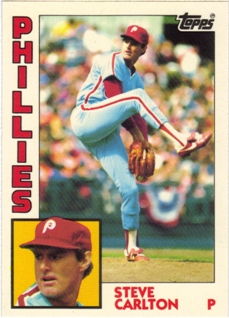 1984 Topps Tiffany #780 Steve Carlton