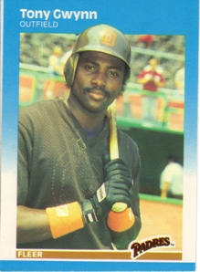 1987 Fleer Glossy #416 Tony Gwynn