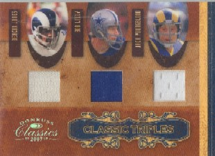 2007 Donruss Classics Classic Triples Jerseys #10 Deacon Jones/Jack Youngblood/Bob Lilly
