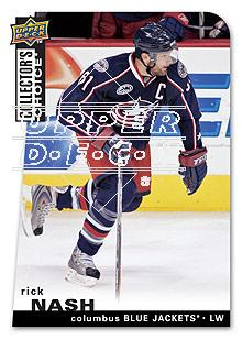 2008-09 Collector's Choice #158 Rick Nash