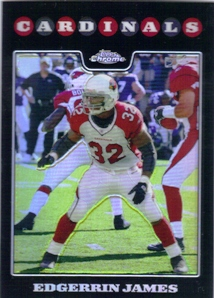 2008 Topps Chrome Refractors #TC55 Edgerrin James