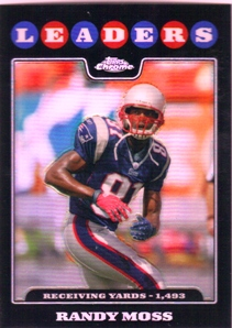 2008 Topps Chrome Refractors #TC128 Randy Moss LL