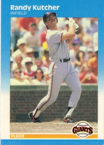 1987 Fleer Glossy #276 Randy Kutcher