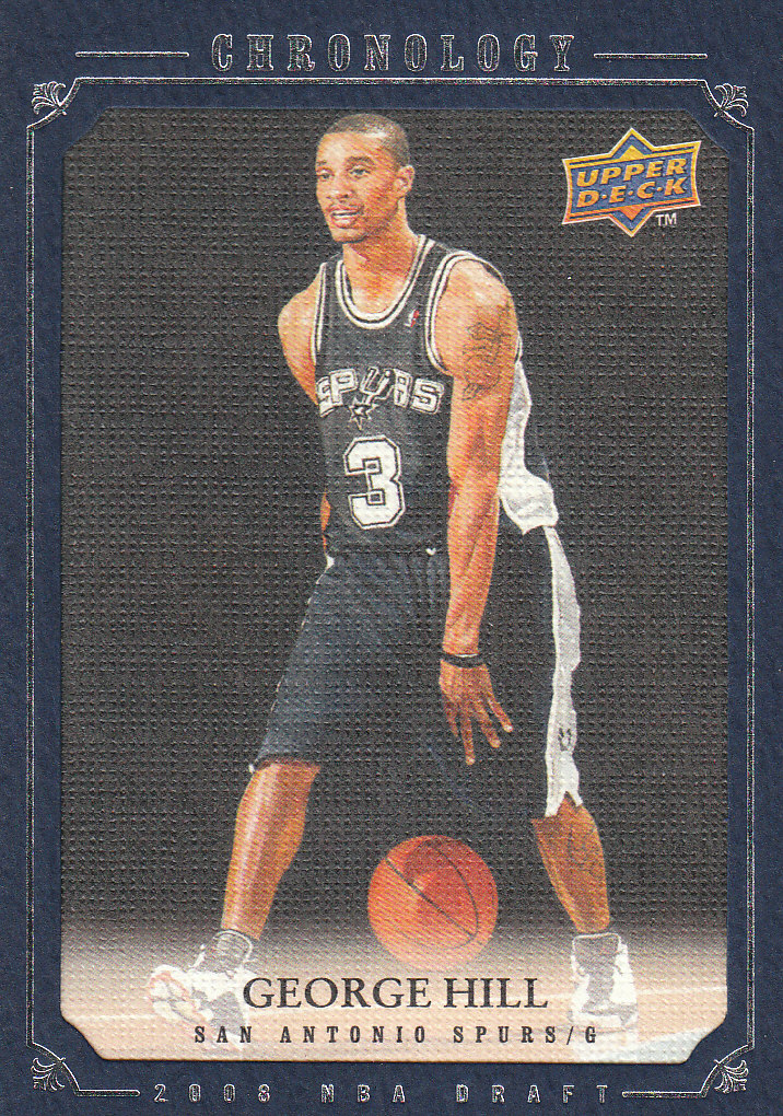 2007-08 Chronology #276 George Hill XRC