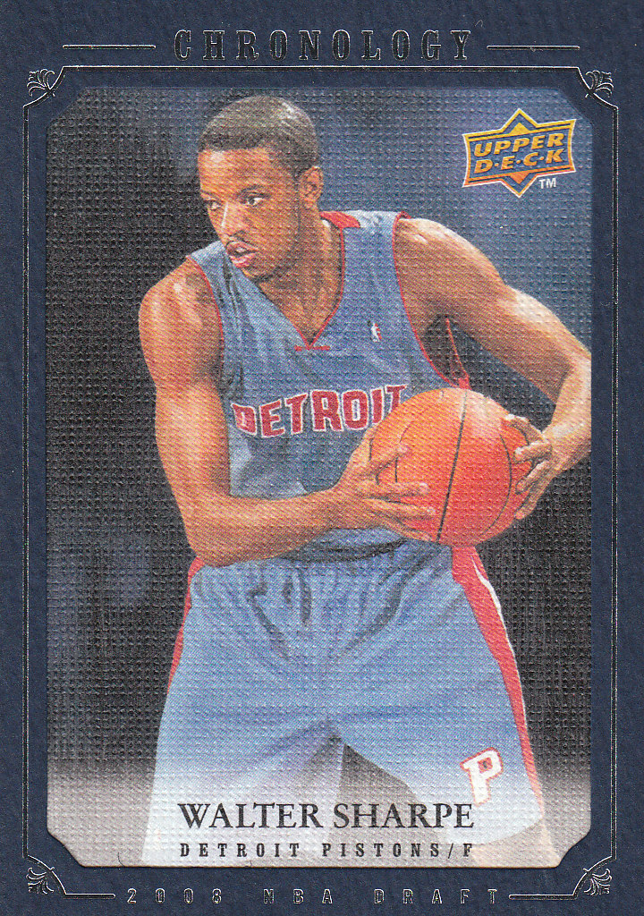 2007-08 Chronology #282 Walter Sharpe XRC