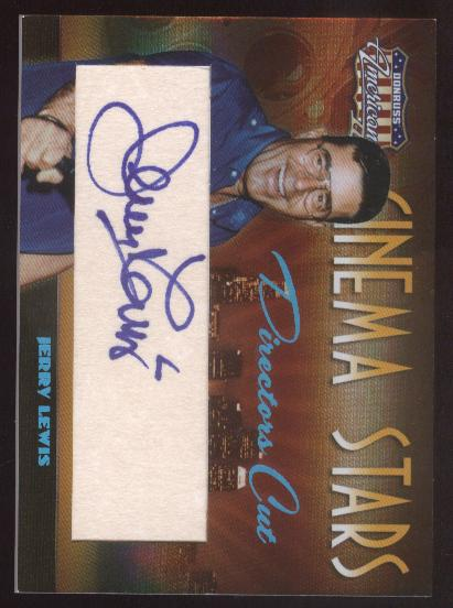 2008 Americana II Cinema Stars Signature Directors Cut #46 Jerry Lewis/50