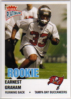 2003 Fleer Platinum #231 Earnest Graham RC