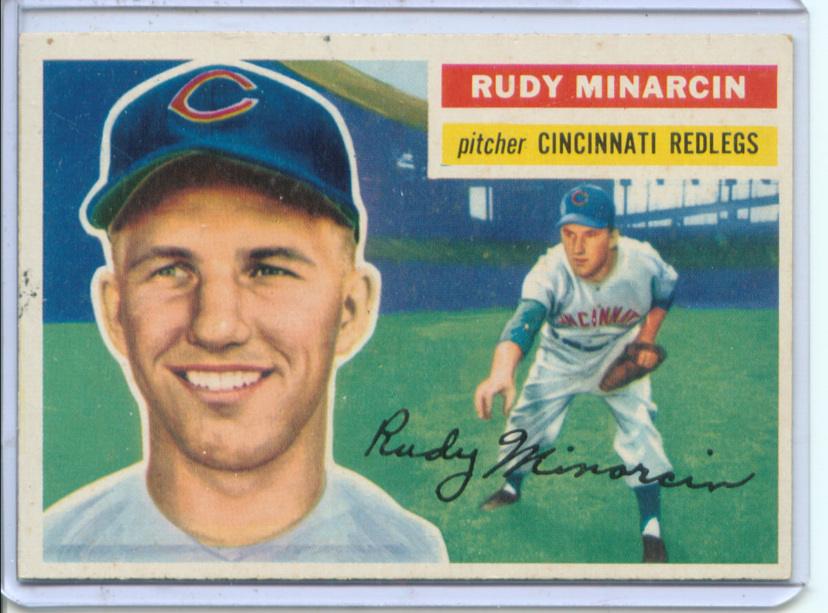 1956 Topps #36 Rudy Minarcin