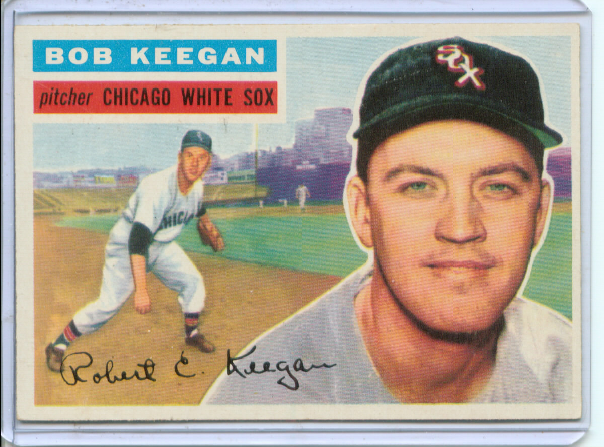 1956 Topps #54 Bob Keegan