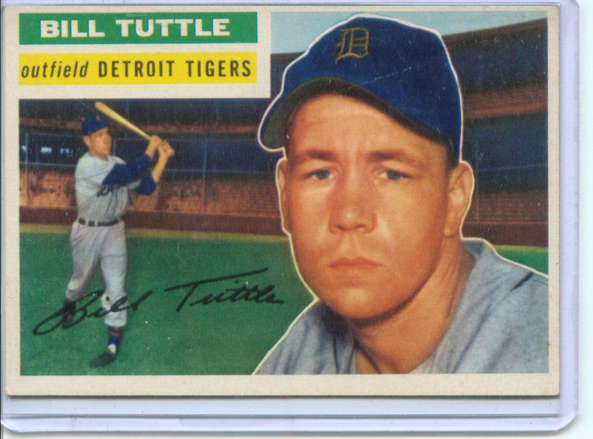 1956 Topps #203 Bill Tuttle