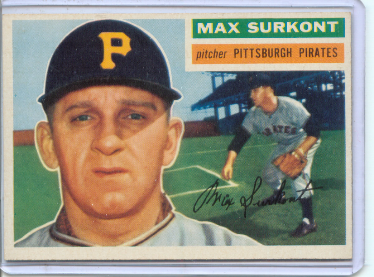 1956 Topps #209 Max Surkont
