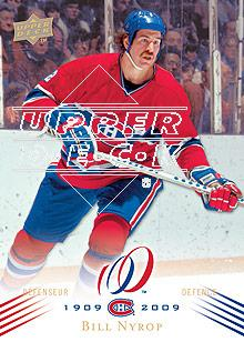 2008-09 Upper Deck Montreal Canadiens Centennial #4 Bill Nyrop