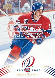 2008-09 Upper Deck Montreal Canadiens Centennial #40 Denis Savard