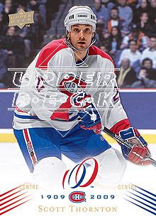 2008-09 Upper Deck Montreal Canadiens Centennial #67 Scott Thornton