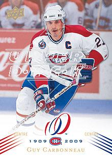 2008-09 Upper Deck Montreal Canadiens Centennial #78 Guy Carbonneau