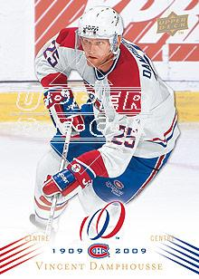 2008-09 Upper Deck Montreal Canadiens Centennial #90 Vincent Damphousse