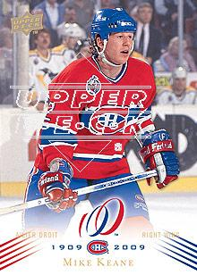 2008-09 Upper Deck Montreal Canadiens Centennial #111 Mike Keane