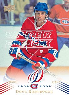 2008-09 Upper Deck Montreal Canadiens Centennial #128 Doug Risebrough