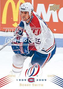 2008-09 Upper Deck Montreal Canadiens Centennial #137 Bobby Smith