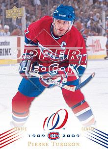 2008-09 Upper Deck Montreal Canadiens Centennial #145 Pierre Turgeon
