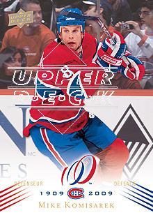 2008-09 Upper Deck Montreal Canadiens Centennial #176 Mike Komisarek