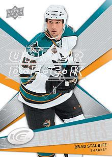 2008-09 Upper Deck Ice #111 Brad Staubitz RC