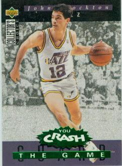 1994-95 Collector's Choice Crash the Game Assists Redemption #A13 John Stockton