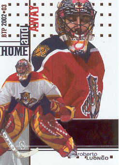 2002-03 Between the Pipes #133 Roberto Luongo HA