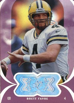 1998 SPx Finite Spectrum #154 Brett Favre PE front image
