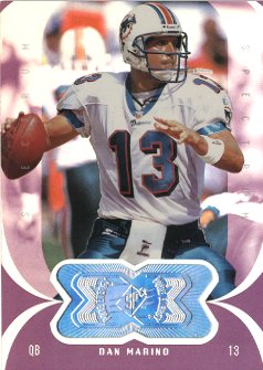 1998 SPx Finite Spectrum #163 Dan Marino PE