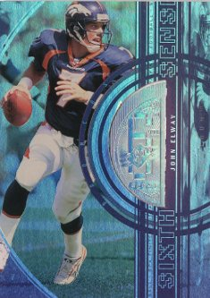 1998 SPx Finite Spectrum #341 John Elway SS