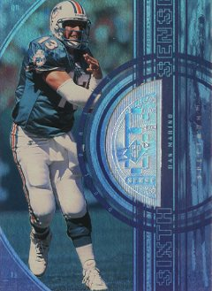 1998 SPx Finite Spectrum #354 Dan Marino SS