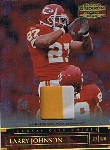 2007 Donruss Gridiron Gear Jerseys Prime #92 Larry Johnson