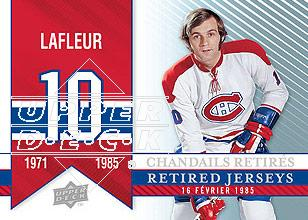 2008-09 Upper Deck Montreal Canadiens Centennial #279 Guy Lafleur