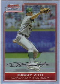 2006 Bowman Chrome Refractors #17 Barry Zito